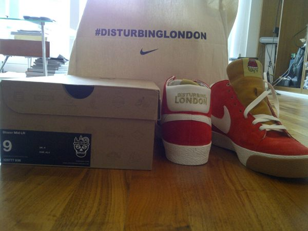 Disturbing London x Nike SB Blazer Mid LR - Another Look