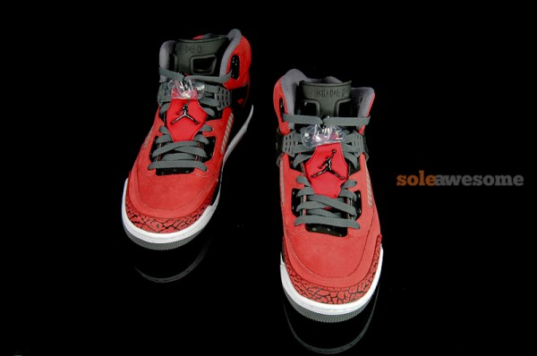 Jordan Spiz'ike 'Red/Black' - Detailed Look