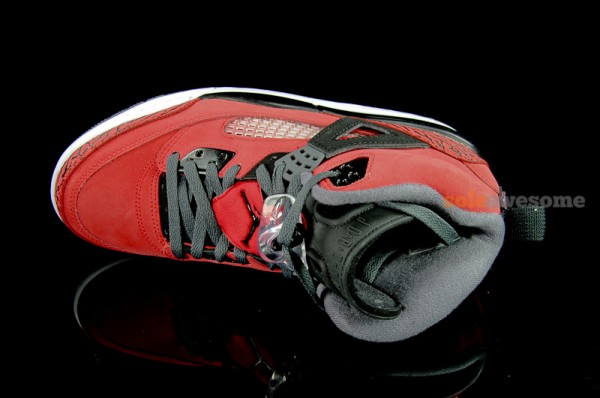 Jordan Spiz'ike 'Red/Black' - Detailed Look