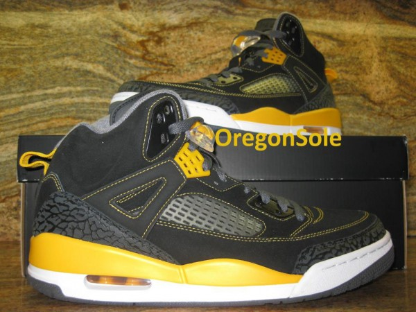 Jordan Spiz'ike 'Black/University Gold-Grey-White'