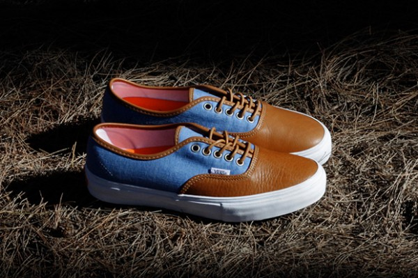 KICKS/HI x Vans Vault Authentic LX - Fall 2012