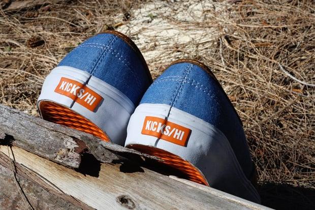 KICKS/HI x Vans Vault Authentic LX - Fall 2012