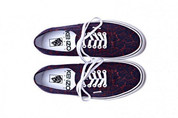 Kenzo x Vans Authentic Floral Pack