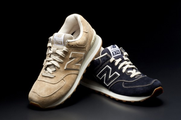 New Balance 574 Pigskin Suede Pack - Fall 2012
