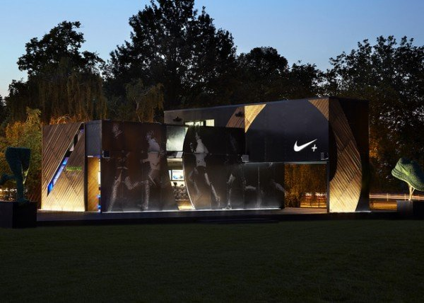 Nike+ FuelStation at Clapham Common, London