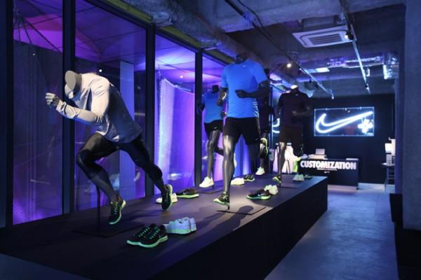Nike+ Installation at Tokyo Ugokidase Station