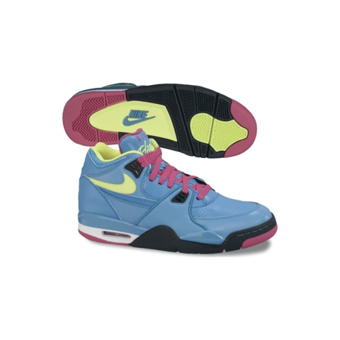 Nike Air Flight 89 'Dynamic Blue/Volt-Fireberry-Black'