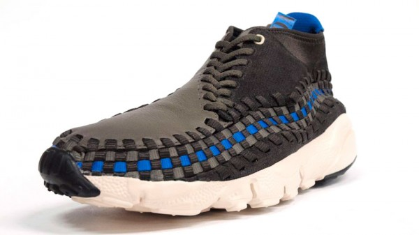Nike Air Footscape Motion Woven Chukka 'Black/Blue-Natural' - Another Look