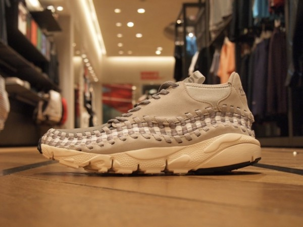 Nike Air Footscape Motion Woven Chukka 'Grey/White-Natural' - New Images