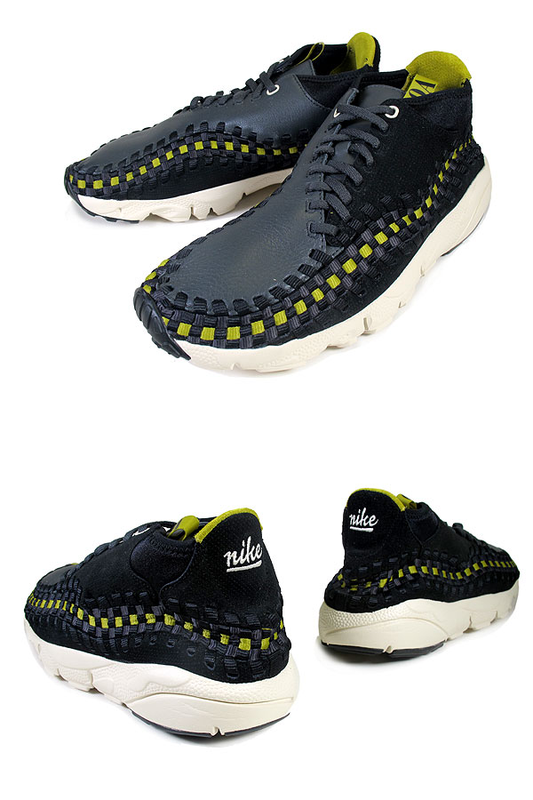 Nike Air Footscape Motion Woven Chukka 'Black/Anthracite-Natural'