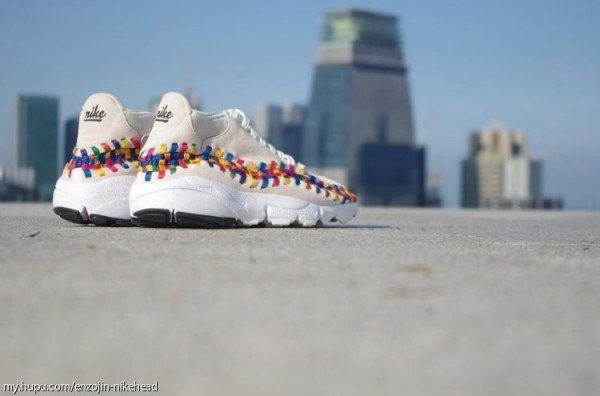 Nike Air Footscape Motion Woven Chukka Rainbow 'Beige' - New Images