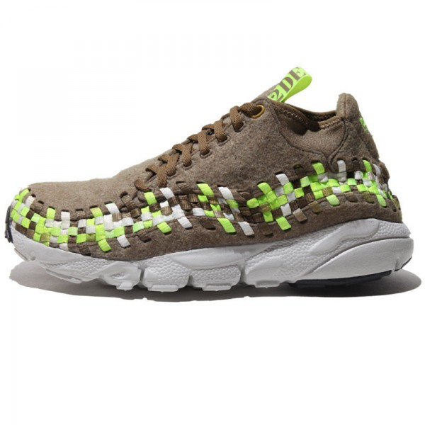 Nike Air Footscape Motion Woven Chukka Wool 'Brown'