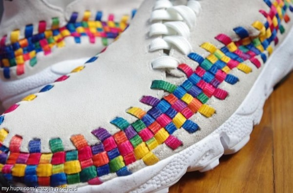 Nike Air Footscape Motion Woven Chukka Rainbow 'Beige' - Another Look