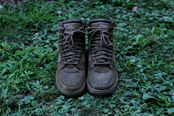 Nike Air Force 1 Hi DCN Military Boot 'Raw Umber'