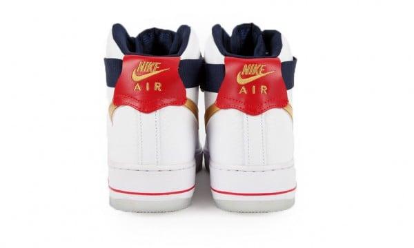 Nike Air Force 1 Hi Premium 'Olympic' at Bodega