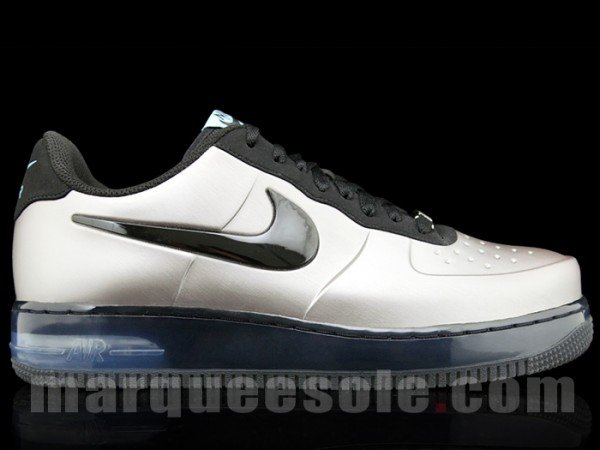 Nike Air Force 1 Low Foamposite Pro 'Metallic Silver'