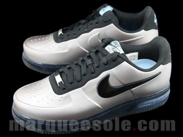Nike Air Force 1 Low Foamposite Pro 'Metallic Silver'