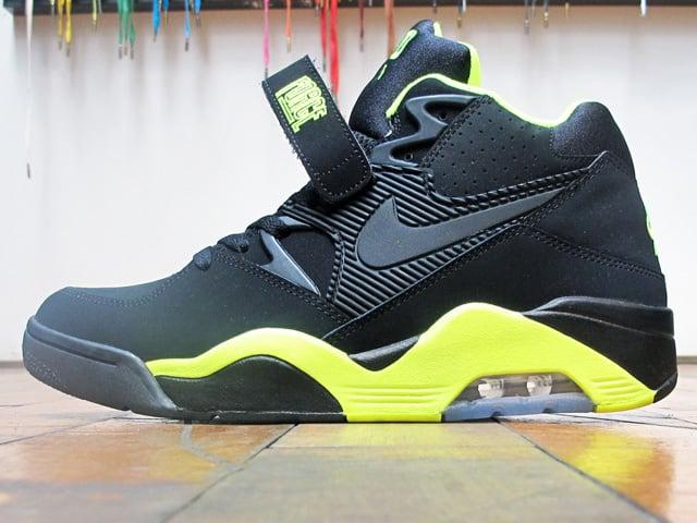 Nike Air Force 180 'Black/Volt' at 21 Mercer