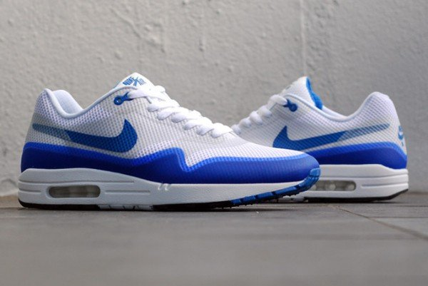 Nike Air Max 1 Hyperfuse NRG 'Varsity Blue' at Crooked Tongues