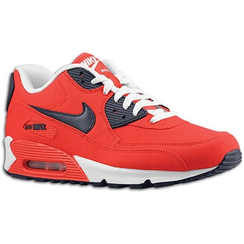Nike Air Max 90 'Action Red/Obsidian-White'