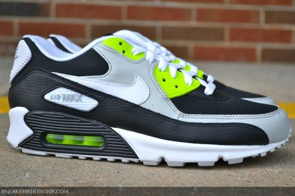 separation shoes 054cb 3faae ... 50% off nike air max 90 black white volt 18452 b79b1