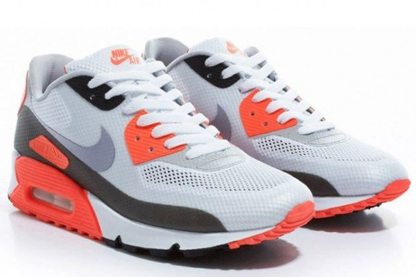 Nike Air Max 90 Hyperfuse 'Infrared' at end