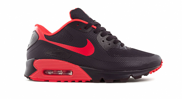 Nike Air Max 90 Hyperfuse 'Port Wine/Bright Crimson' at Bows & Arrows