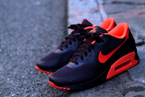 Nike Air Max 90 Hyperfuse 'Port Wine/Bright Crimson'