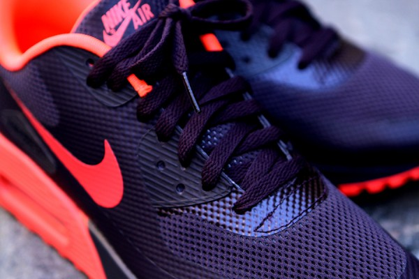 Nike Air Max 90 Hyperfuse 'Port Wine/Bright Crimson'