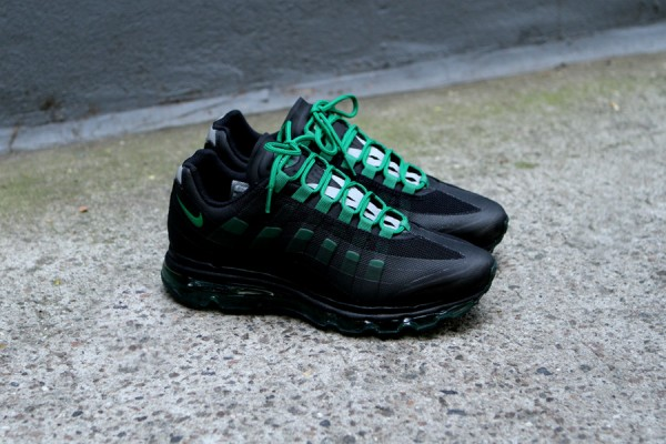 Nike Air Max 95+ BB 'Black/Pine Green-Dark Grey-Wolf Grey' at Kith NYC