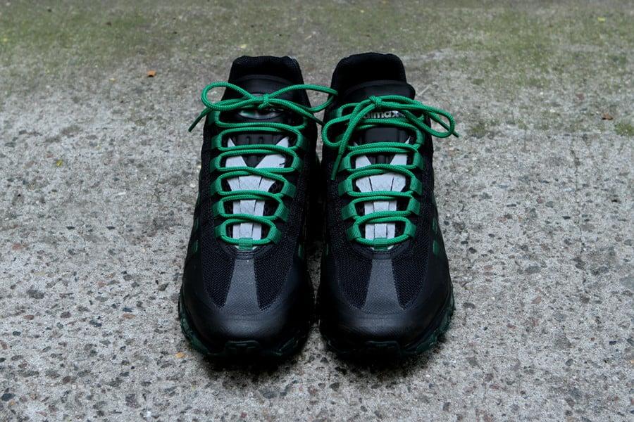 the latest 17e83 bea79 Nike Air Max 95+ BB  Black Pine Green-Dark Grey-Wolf Grey  at Kith NYC    SneakerFiles