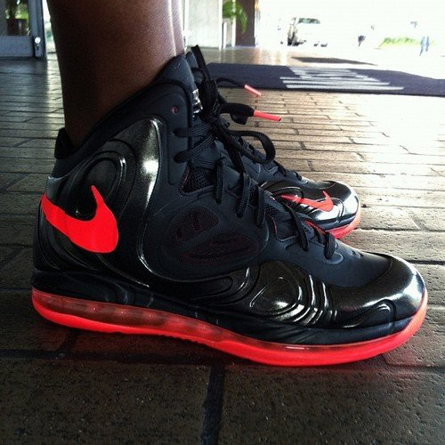 Nike Air Max Hyperposite 'Black/Bright Crimson'