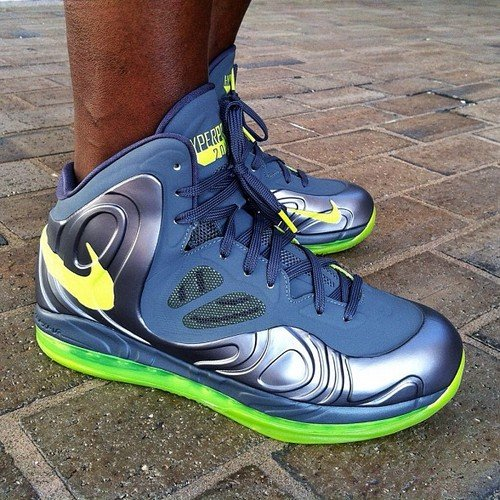 big sale 3e6aa 09c60 Nike Air Max Hyperposite  Charcoal Atomic Green . Nike Air Max Hyperposite   Charcoal Atomic Green . We have a look at two additional colorways ...