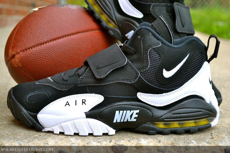 Nike Air Max Speed Turf Black White Voltage Yellow At