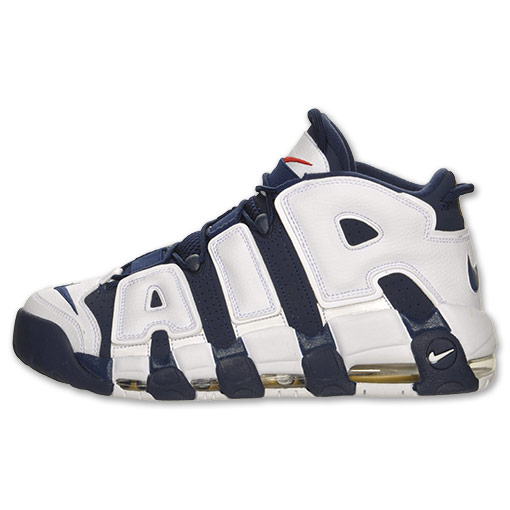 Nike Air More Uptempo 'Olympic' Restock at Finish Line