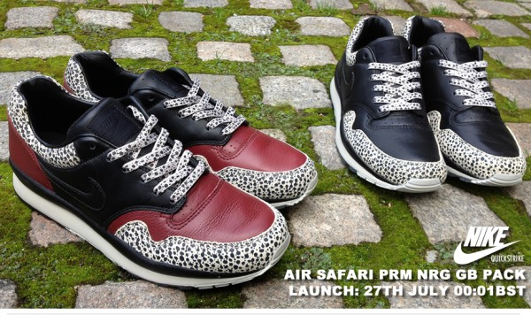 new arrival 4c578 fffa8 Nike Air Safari PRM NRG Great Britain Pack at Hanon | SneakerFiles