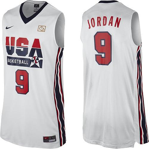 Nike 'Dream Team' 2012 USA Basketball Retro Authentic Jersey