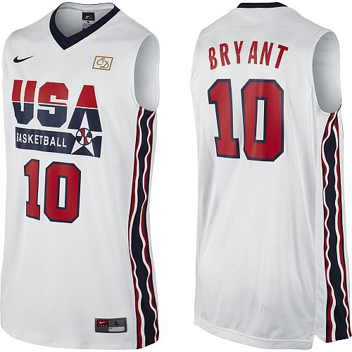 Nike 'Dream Team' 2012 USA Basketball Retro Authentic Jersey