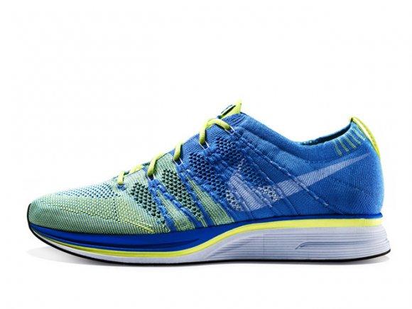 Nike Flyknit Trainer+ 'Blue Glow/Blue Tint-Volt' – Release Date + Info