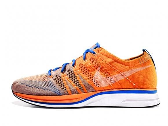 Nike Flyknit Trainer+ 'Total Orange/Barely Orange-Blue Glow' – Release Date + Info