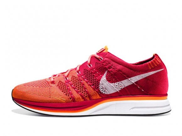 Nike Flyknit Trainer+ 'University Red/White-Total Orange' – Release Date + Info