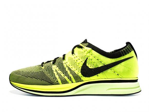 a1ac76db28fa Nike Flyknit Trainer+  Volt Black  – Release Date + Info