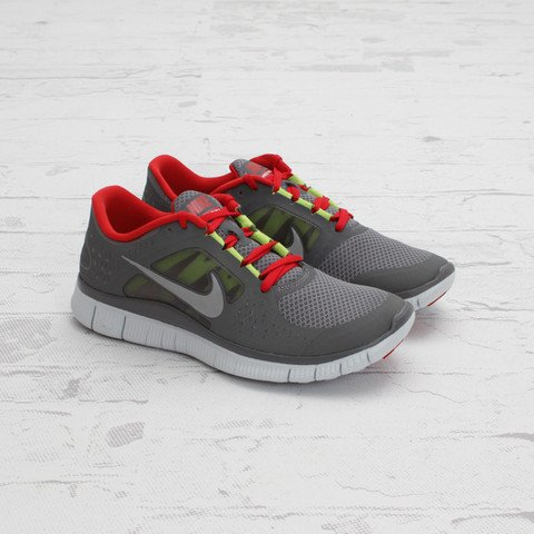 Nike Free Run+ 3 'Cool Grey/Reflective Silver'