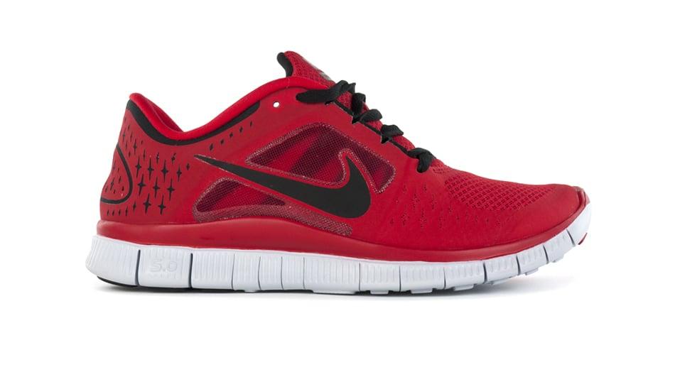 nike free run 3 redblack sneakerfiles