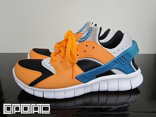Nike Huarache Free 2012 'Industrial Orange'