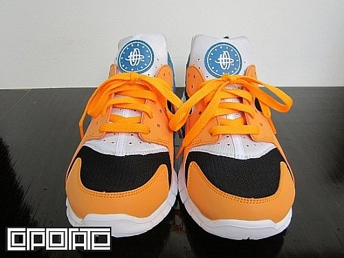 Nike Huarache Free 2012 'Industrial Orange'