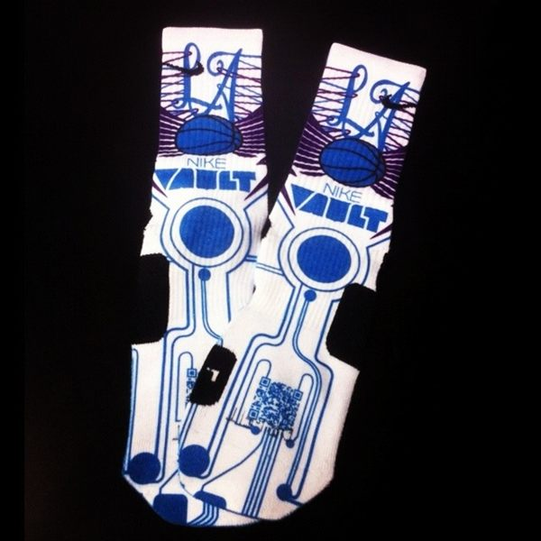 Nike Hyperdunk+ Custom Elite Socks at Nike Vault