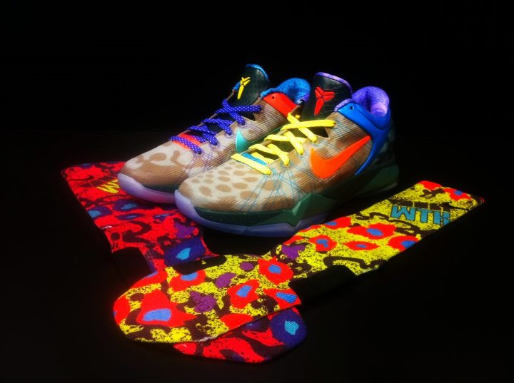 Nike Kobe 7 'What The Kobe' Elite Socks