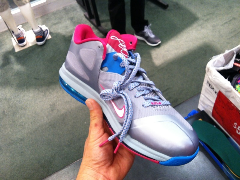 Nike LeBron 9 Low WBF 'Fireberry' - Another Look