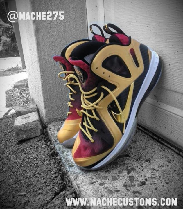 Nike LeBron 9 P.S. Elite 'MVP' by Mache Custom Kicks